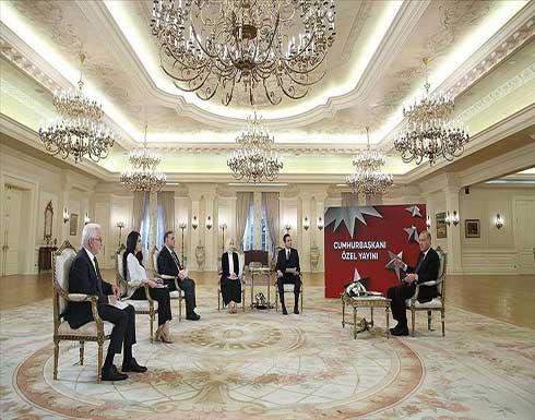 أردوغان: توجد آفاق واسعة للتعاون مع مصر