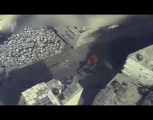 شاهد : جيش الاحتلال ينشر فيديو لعملية اغتيال حامد أحمد الخضري