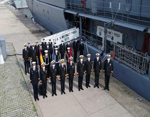 تركيا تتسلم قيادة قوة في الناتو معنية بالعمليات المضادة للألغام