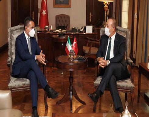 تركيا: سنواصل العمل مع إيطاليا على إحلال سلام مستدام في ليبيا