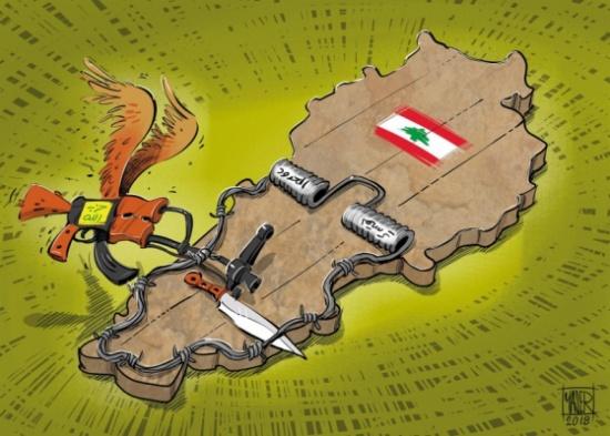 صراع على الحدود بين لبنان وإسرائيل