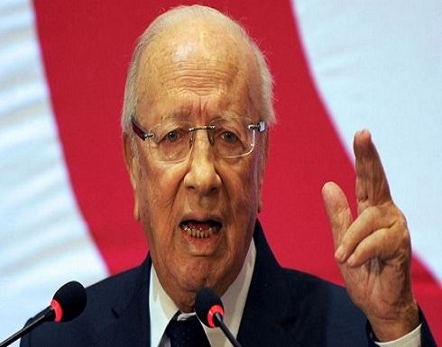 السبسي: لا خصومة مع الشاهد ولكن عليه احترام مقام الرئاسة