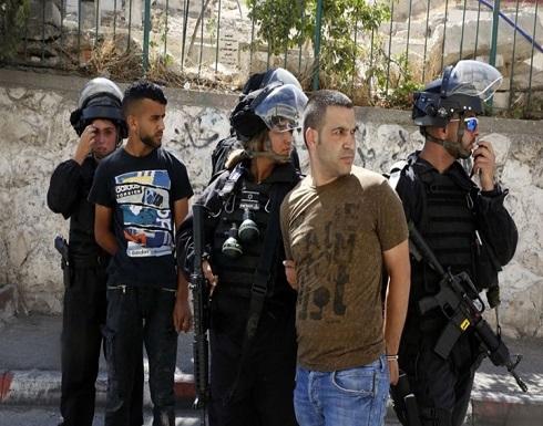 شاهد : الاحتلال يعتقل 10 فلسطينيين بالضفة والقدس