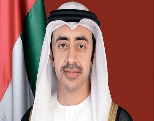 عبد الله بن زايد يعرب عن دعم الإمارات الكامل لتونس