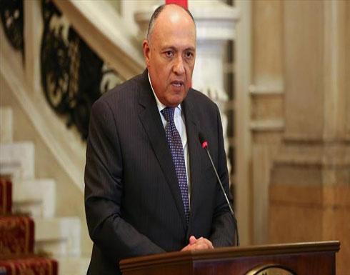 """وزير خارجية مصر ونظيرته الكينية يبحثان تطورات مفاوضات سد """"النهضة"""""""