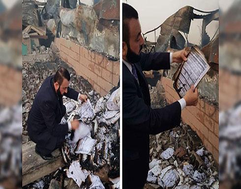 هل تتحمل مفوضية الانتخابات العراقية مسؤولية الحرائق؟