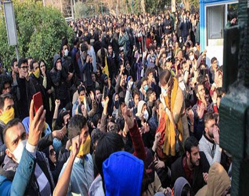 بالفيديو ..الاحتجاجات تتواصل في إيران رغم الانتشار الأمني