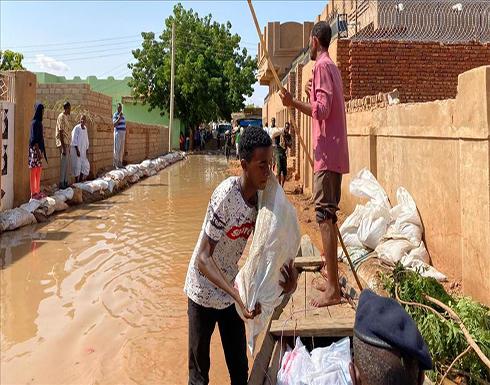 السودان.. ارتفاع ضحايا السيول والفيضانات إلى 101 وفاة .. صور