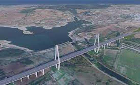 شاهد : وضع حجر الأساس لأول جسور قناة إسطنبول