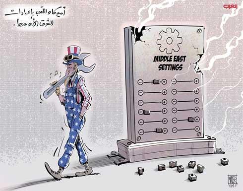 أميركا واللّعب بإعدادات الشرق الأوسط