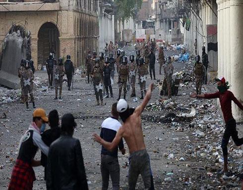 """رئيس العراق: 600 متظاهر قتلوا بسبب """"خارجين عن القانون"""""""