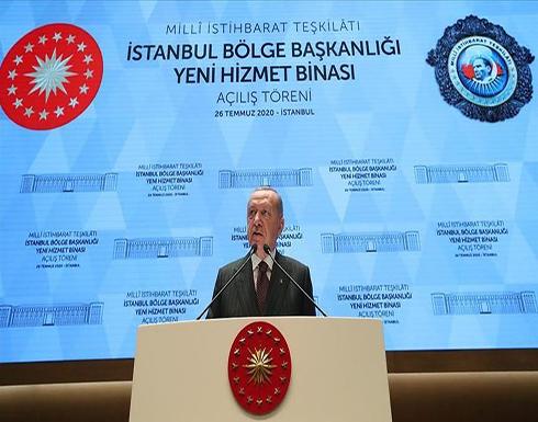 أردوغان: الاستخبارات التركية غيرت قواعد اللعبة بليبيا
