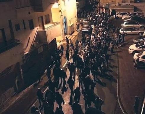 بالفيديو : مصريون يتظاهرون ضد كورونا