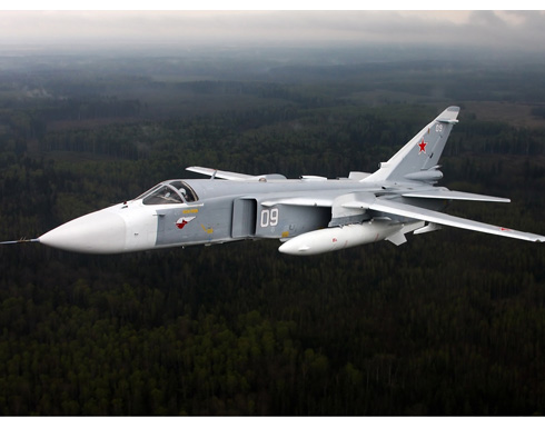 """تعرف أكثر على طائرة """"سوخوي 24"""" الروسية التي أسقطتها تركيا"""