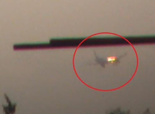 إسقاط طائرة إيرانية محملة بالسلاح فوق مطار دمشق