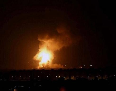 شاهد : سقوط صواريخ على المنطقة الخضراء في العراق