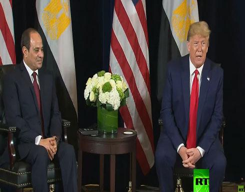 شاهد.. الرئيس الأمريكي ترامب يستقبل الرئيس المصري السيسي في نيويورك
