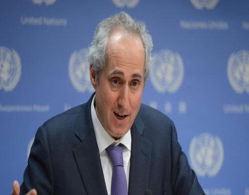الأمم المتحدة قلقة على النازحين بإدلب وحماة