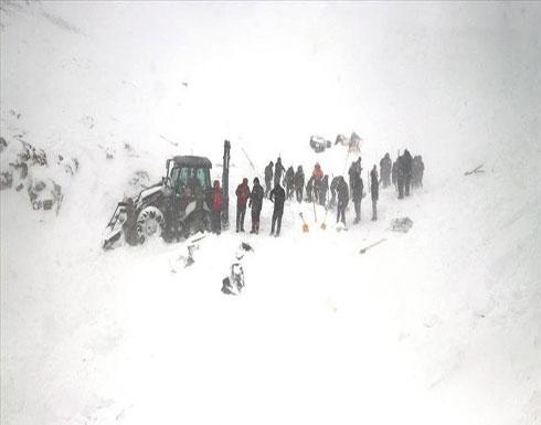ارتفاع حصيلة ضحايا الانهيار الجليدي في تركيا إلى 28 قتيلاً