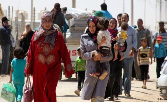 635 لاجئا سوريا عادوا الى بلادهم خلال الـ24 ساعة من الاردن