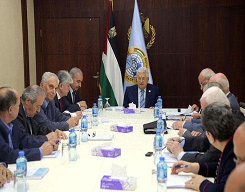 منظمة التحرير تدعو اشتية لبدء تحديد العلاقة مع إسرائيل
