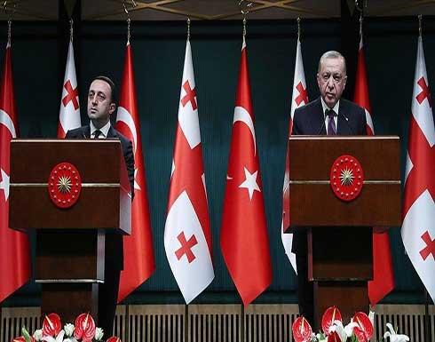 أردوغان: جورجيا مفتاح للتعاون الإقليمي في المنطقة