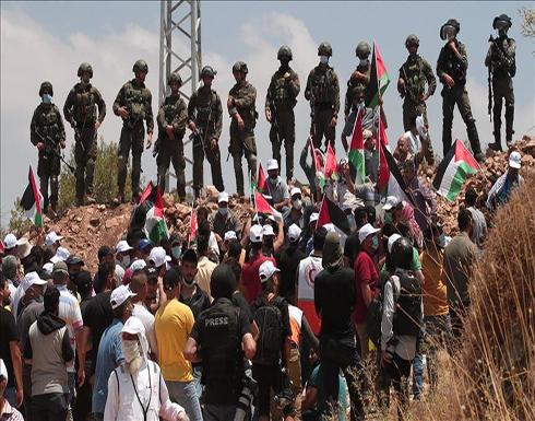 إصابة 8 فلسطينيين في مواجهات مع الجيش الإسرائيلي بالقدس