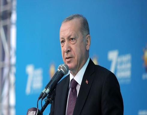 أردوغان: تركيا لم تخضع للوصاية والإرهاب والانقلابات