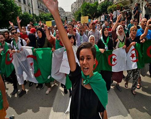 شاهد : الاحتجاجات في الجزائروالامن  يمنع مسيرة طلابية