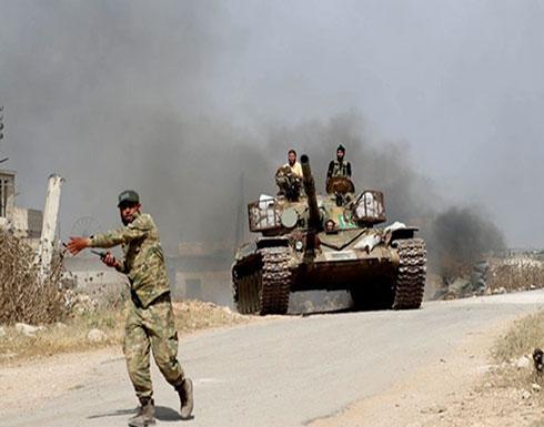 بالفيديو : اشتداد معارك ريف حماة.. والمعارضة: قواتنا تتقدم