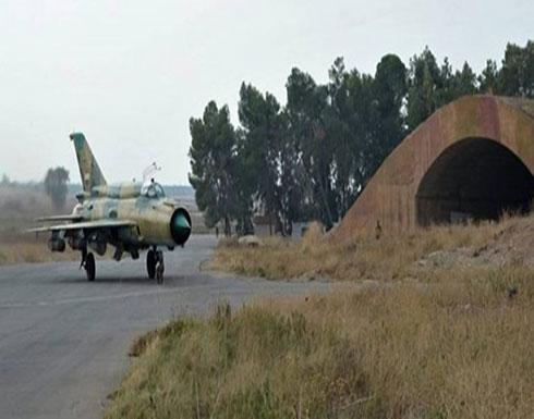 داعش يهاجم مطار خلخلة ويدمر عدة طائرات حربية ومسيرة للنظام