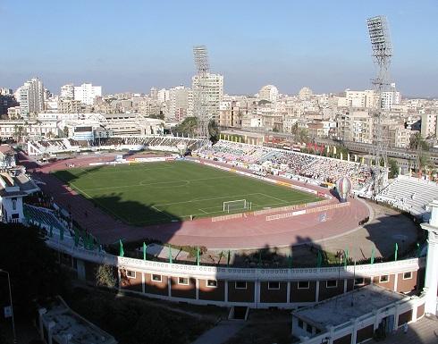 ستاد الإسكندرية يقترب من استضافة نهائي كأس مصر