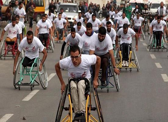 غزة: ماراثون الصمود لذوي الاحتياجات الخاصة