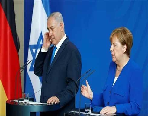 ميركل تبحث مع نتنياهو إنهاء التصعيد بين إسرائيل وفلسطين في أسرع وقت