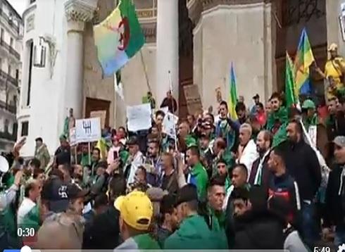 شاهد الجمعة 11 في الجزائر  ( بث مباشر )