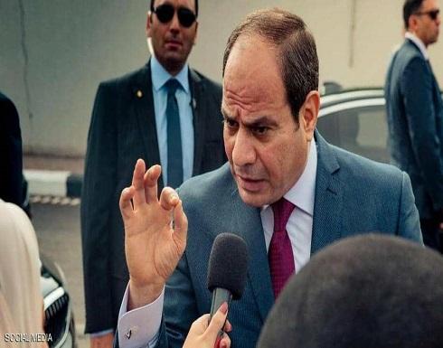 """مصر.. السيسي يبحث """"سد النهضة"""" مع كبار المسؤولين"""
