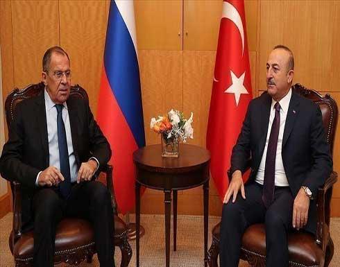 موسكو: لافروف يلتقي تشاووش أوغلو في أنطاليا الأربعاء