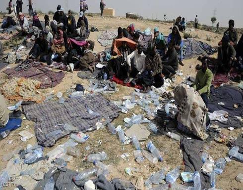 عشرات القتلى بحادث تصادم حافلة تقل مهاجرين في ليبيا