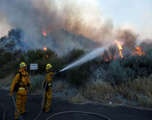 كاليفورنيا.. استمرار محاولات السيطرة على حريق غابات منذ 10 أيام
