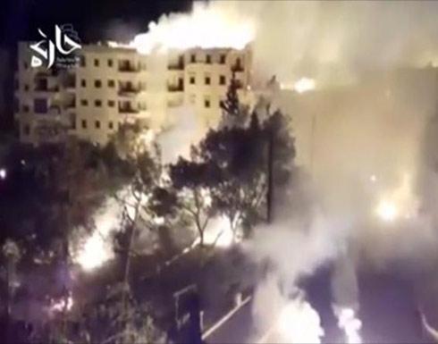 روسيا تستهدف حلب بالقنابل العنقودية والفسفورية