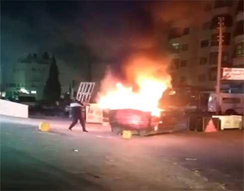 شاهد : إصابات خلال مواجهات مع جيش الاحتلال في كفرعقب شمال القدس