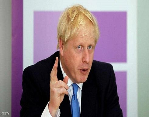 """جونسون يحذر أوروبا من """"حصار غذائي"""" بين بريطانيا وإيرلندا"""