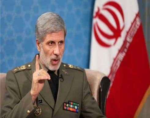 وزير الدفاع الإيراني: الحرب ضدنا لم تقتصر على الاقتصاد