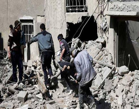 """الجيش السوري يتحدث عن """"ورشة كيماوي"""" بالغوطة"""