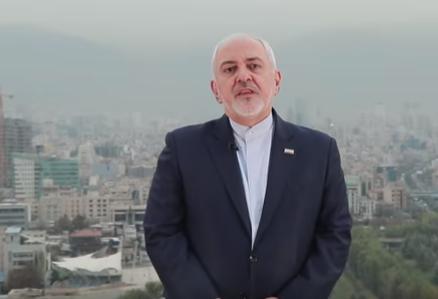 شاهد .. وزير الخارجية الايراني يهدد ويندد بعقوبات أمريكية