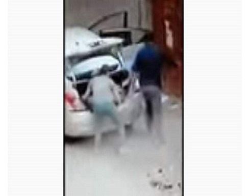 لن تصدق ما تراه.. كاميرا مراقبة توثق أغرب عملية سرقة في مصر..فيديو