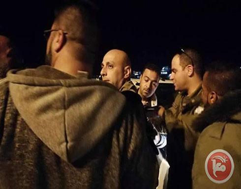 اعتقال شاب بحجة حيازة سكينين شرق رام الله