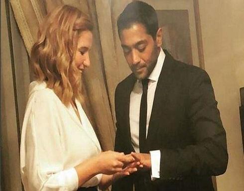 بالفيديو : بعد أسابيع من الغموض.. أحمد فلوكس وهنا شيحة يعقدان قرانهما