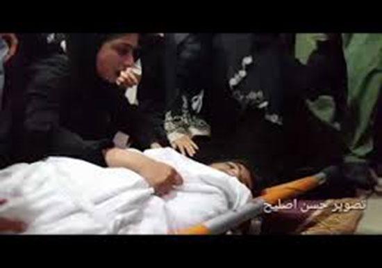 جنازة الشهيد صهيب عبد السلام ابو كاشف 16 عام استشهد في مستشفى غزة الاوروبي متأثرا بجر
