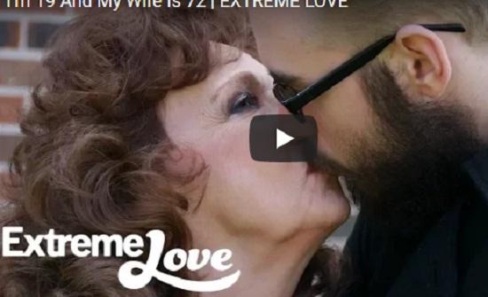 سيدة تبلغ من العمر 72 عاما تتزوج من مراهق أصغر من حفيديها (فيديو)